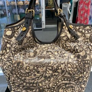 Givenchy Paisley Patterned hobo bag